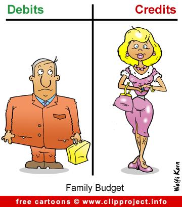 Family budget cartoon free