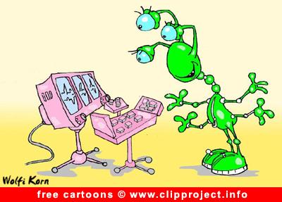 Alien TV cartoon for free