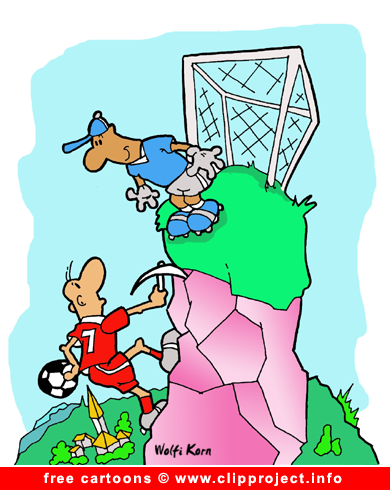 Football cartoon for free download