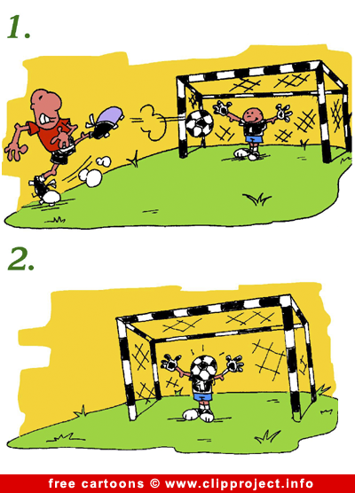 Football comic strip free