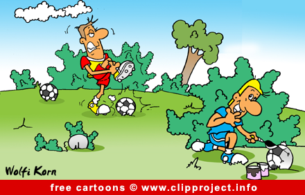 Free cartoon soccer
