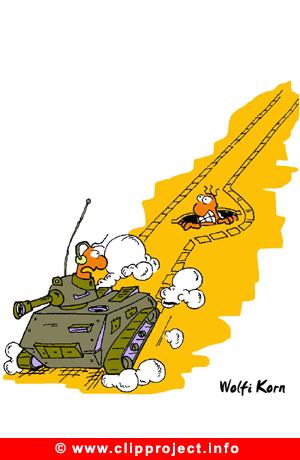 Tank Cartoon free - Army Cartoons free