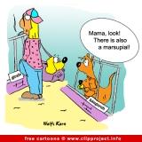 Kangaroo cartoon - Animals cartoons for free