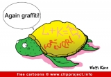Turtle cartoon image - Free animals cartoons