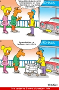 Car salesman cartoon free