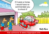 Car workshop cartoon gratis