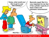 Birthday gift cartoon free