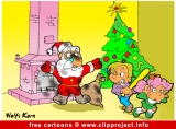 Santa Claus cartoon for free
