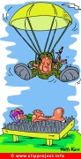 Parachutist Cartoon free download