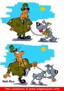 Soldier Cartoon free - Army Cartoons for free