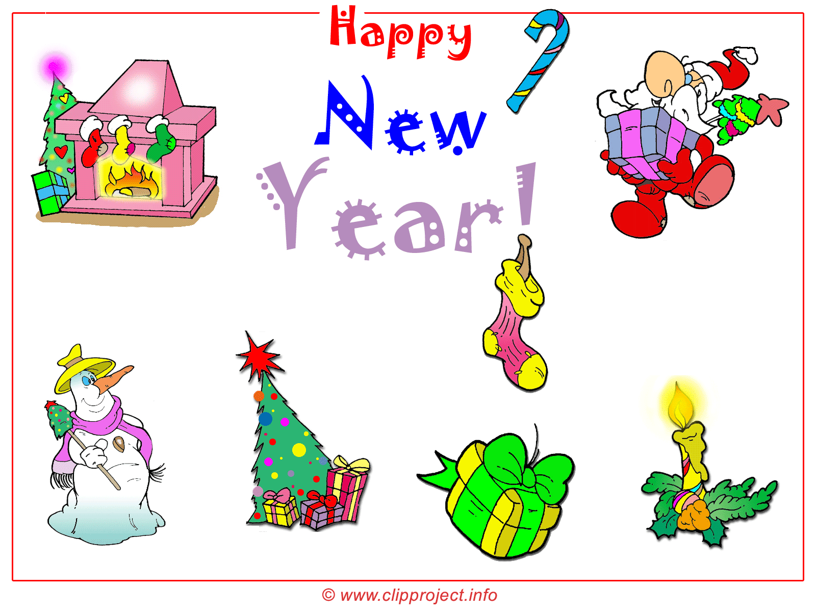 merry christmas and happy new year free clipart wallpaper 1600x1200 px