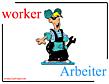 English-German-Dictionary-W