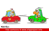 Free Cartoon Car-Knights