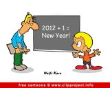 New year cartoon for free