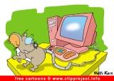 Computer mouse image cartoon free