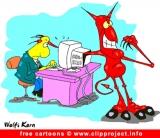 Gratis computer cartoon