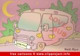 Love Bus Cartoon free