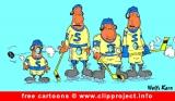 Hockey Cartoon free - Sport Cartoons free