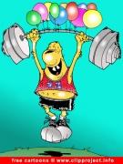 Sport Cartoon gratis download - Cartoons for Olympic Games