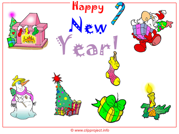 Free Christmas cartoon clipart download online, Wallpaper preview
