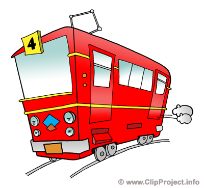 Tram image clip art free