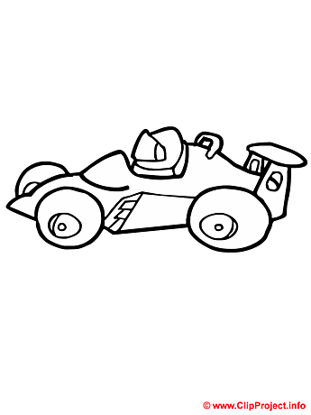 Sport car coloring sheet - Free painting book